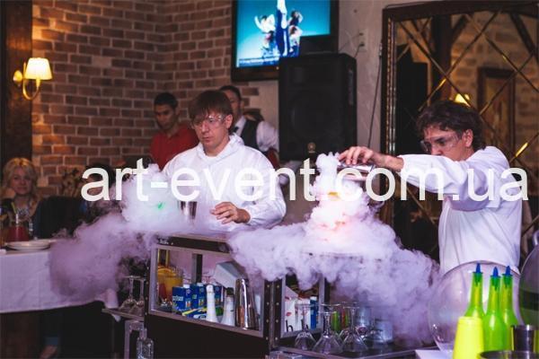 Молекулярное бармен шоу