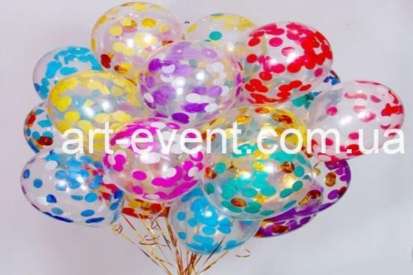 Гелиевые шарики с разноцветным конфетти_01