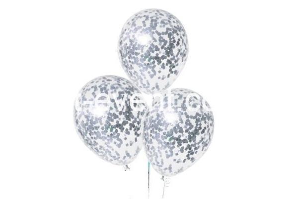 Гелиевые шарики с серебряным конфетти_01
